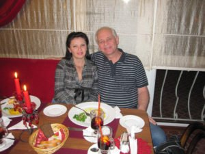 Bill and Larisa Green Nikolaev