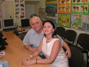 Bill and Larisa Classroom